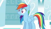Rainbow is surprised S4E21
