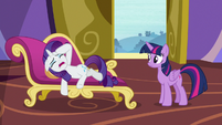 """Rarity """"spend any time with me at all!"""" S9E19"""