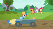 S06E14 Rainbow Dash w wozie