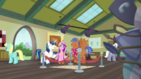 """Shining Armor """"this reminds me of the time"""" S7E3"""