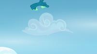 Sky Stinger flipping through the air S6E24