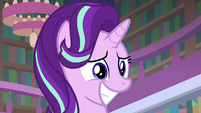 Starlight Glimmer grinning with hope S8E17