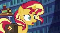 "Sunset Shimmer ""that must be stressful"" EGS3"