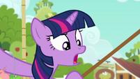 "Twilight ""Applejack doesn't fly!"" S6E10"