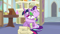 "Twilight ""can't think of anypony who'd be better"" S9E20"