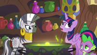 """Twilight """"they're having fun with Discord"""" S5E22"""