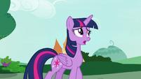"Twilight Sparkle ""I never thought she'd cancel"" S7E19"