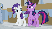 "Twilight Sparkle confused ""accredited?"" S8E16"