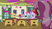 Cheerilee asking the class S2E17