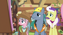 Expert ponies look back at the dream board S7E5