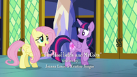 """Fluttershy """"I feel so much better going with a friend"""" S5E23"""