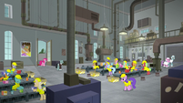 Interior view of the Amusement Factory S9E14
