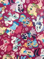 My Little Pony Christmas Gift Wrapping Paper