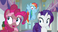 """Pinkie Pie """"all those eyeless worm creatures"""" S8E15"""
