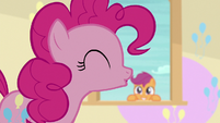 Pinkie Pie addressing her students S8E12