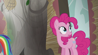 Pinkie Pie hears Gilda S5E8