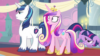 Princess Cadance behind me S2E25