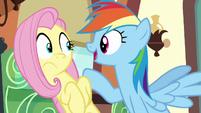 """Rainbow """"I bet Princess Celestia even comes"""" S6E18"""