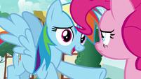 """Rainbow Dash """"you gotta be more careful"""" S7E23"""