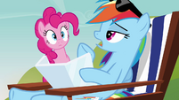 Rainbow Dash 'I'm just gearing up to catch some Zs' S3E03