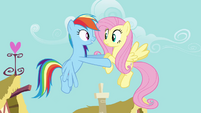 Rainbow Dash -I bet you're excited, huh- S4E04