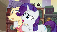 """Rarity """"did she just clench her jaw?!"""" S6E3"""