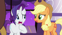 """Rarity """"it could be devastating!"""" S9E17"""