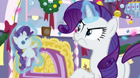 Rarity annoyed by the interruption BGES3