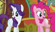 S06E12 Pinkie i Rarity wykonały swoją misję