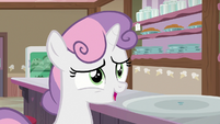 """Sweetie Belle """"another scoop would be fine!"""" S7E6"""