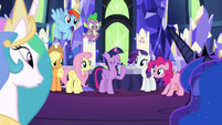 """Twilight """"we'll cover your palace duties"""" S9E13"""