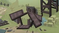 Village windmill in ruins S7E26
