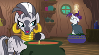 Zecora -all of these mane-losing blues- S7E19