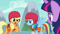 "Applejack ""I did not!"" S8E9"