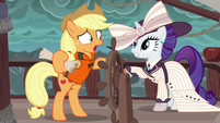 Applejack --the only way to find Plunder Cove-- S6E22