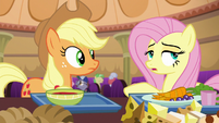 """Fluttershy """"he's better off with them fighting"""" S6E20"""