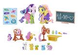 Fluttershy & Starlight Glimmer Pet Care Class set