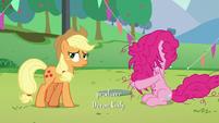 Pinkie brings her hair down S5E24