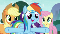 """Rainbow """"what are we waiting around here for?!"""" S8E18"""