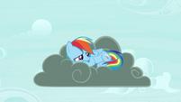 Rainbow on thundercloud S4E21