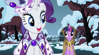 "Rarity ""Don't you agree?"" S2E11"