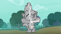 Spike's cocoon cracks down the middle S8E11