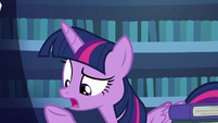 """Twilight """"can't just make a mane with magic"""" S7E19"""