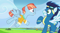 Windy Whistles meets Soarin S7E7