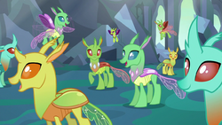 Changelings happy with their new forms S6E26.png