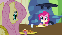 """Fluttershy and Pinkie """"care for some gravy?"""" S03E10"""
