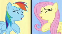 Fluttershy and Rainbow sing their hearts out S6E11