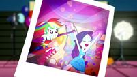 Photo of Rainbow Dash grabbing Rarity SS2