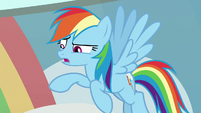 "Rainbow Dash ""I never told that story"" S8E12"