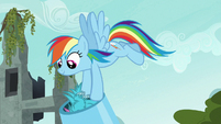 Rainbow puts puckwudgies in the cannon S8E2